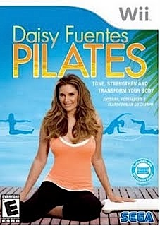daisy fuentes pilates wii box artwork Pilates Wii