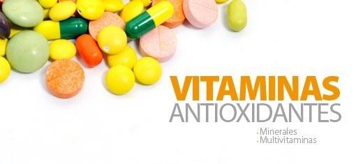 viaminas antioxidantes